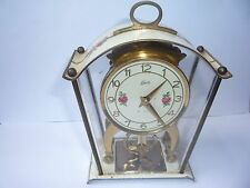 Vintage Brass Collectable 8-Day Clocks