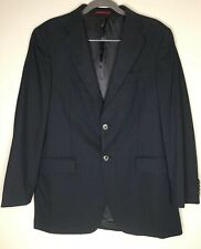 CAROLINA HERRERA Navy Blue Sport Coat Jacket Blazer 40R