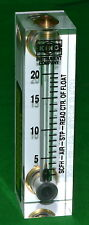 King Instrument Model 7520 Rotameter 75201102C07 *New*
