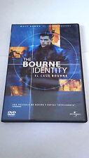 """DVD """"EL CASO BOURNE"""" MATT DAMON FRANKA POTENTE DOUG LIMAN"""