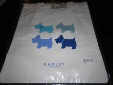 RADLEY CANVAS TOTE SHOPPING BAG QUAD DOG - SLIGHT MARKING - NEW/UNUSED