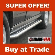 FORD TRANSIT CONNECT SIDE STEPS BARS C2 LONG WHEEL BASE STAINLESS STEEL 2002-13
