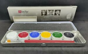 Ben Nye MagiCake Aqua Paint 6 Refillable Color Makeup Palette w/Brush CFK-6 NIB