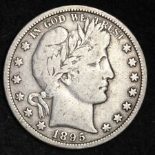 1895-O Barber Half Dollar CHOICE F+/VF FREE SHIPPING E279 KCCT