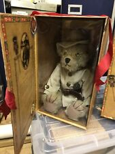 "The Bears of Sagamore Hill: Theodore Roosevelt ""Rough Rider"" Teddy Bear Euc box"