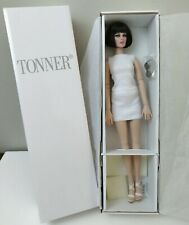 Precarious Bright White Basic Tonner Doll Wigged Doll with Lashes Wig 16""