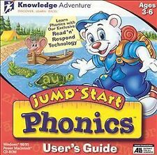 JumpStart Phonics Jewel Case (Windows/Mac, 2000)