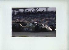 Jochen Mass Arrows A2 German Grand Prix 1979 Signed Photograph 1