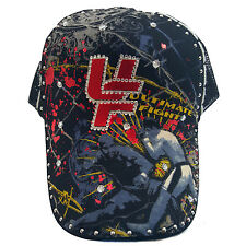 Ultimate Fight With Rhinestones Fashion Cap Hat