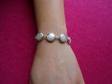 Freshwater Pearl Handmade Bracelet Set in 925 Sterling Silver