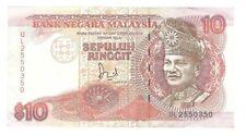 Banknote Malaysia - 10 Ringgit - 1989