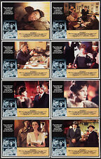 FAREWELL, MY LOVELY original lobby card set ROBERT MITCHUM/CHARLOTTE RAMPLING