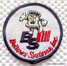 BELLOWS SYSTEM EMBROIDERED SEW ON ONLY PATCH ODESSA TEXAS UNIFORM 2 1/2""