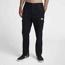 Hurley Troop Men's Cargo Pants AJ2634-010 Black; Size 36