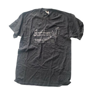 Sammy's Steakhouse New York Lower East Side T Shirt Fruit Of The Loom Tag Size M