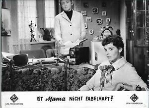 11 x 9 Original Photo Luise Ullrich dans Un Ist Mama Pas Fabelhaft ?
