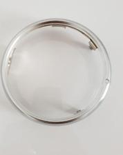 new Chrome round headlight rim ring trim Surround for Honda cub C50 C70 C90