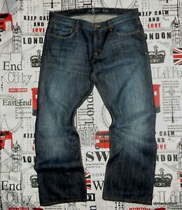 """mens *36""""W Seven 7 For All Mankind 'Brett' Relaxed Bootcut Jeans Indigo Blue"""
