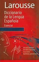 Diccionario Esencial de la Lengua Espanola: By Larousse (Mexico), Editors of