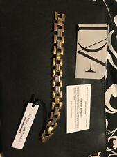 Diane Von Furstenberg  Swavorski Crystal Link Bracelet NWT