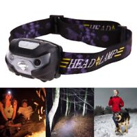 New Mini Rechargeable LED Headlamp 3000Lm Body Motion Sensor Headlight Camping