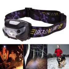 Rechargeable Mini USB LED Headlamp 3000lm Body Motion Sensor Camping Headlight