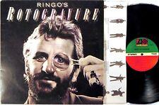 ATLANTIC Ringo Starr ROTOGRAVURE 1976 Gatefold/Inner Sleeve MONARCH SD-18193 EX