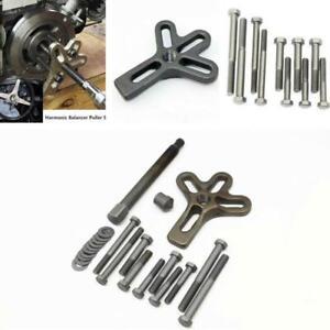 Heavy Duty Steering Wheel Puller Harmonic Balancer Gear Pulley Crank shaft Kit