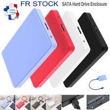 """Boîtier de disque dur externe USB3.0 SATA 2.5""""HDD Mobile Disk Enclosure pour PC"""