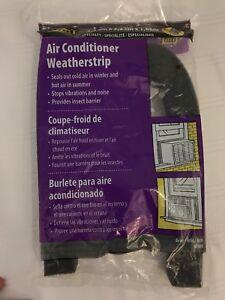 "MD 1-1/4""x1-1/4""x42"" Window AC Air Conditioner Foam Weather Seal Strip 02006 NEW"
