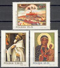 """Ikone:    """"Schwarze Madonna"""" - Mi.Nr.2818, - 2820 ;1982 Jahr - Postfrisch - (26t"""