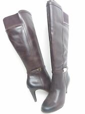 NWB CIRCA JOAN & DAVID WOMEN BOOTS WIDE CAIF LEATHER KNEE HIGH BOOT MSRP $199