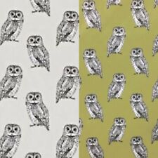 BLACKOUT LINED ROMAN BLIND M2M BABY OWLS OWLET IN 2 COLOURS NATURE COLLECTION