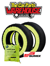⭐️ Sumex Snow Socks ⭐️ (Like Chains) to fit tyre size 175/70/13