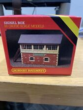 HORNBY R503 SIGNAL BOX NEW ASHFORD OO Gauge Scale Models
