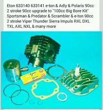 Eton 633140 Polaris Adly e-ton 90cc 2 stroke UPGRADE TO NEW 100cc BIG BORE KIT!!