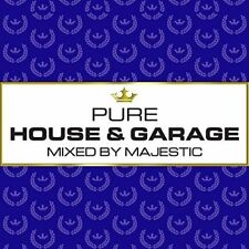 Pure House  Garage - Mixed by Majestic digipack