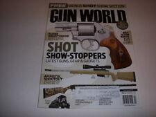 GUN WORLD Magazine, April, 2014, BOLT-ACTION MARVEL R8 BLASER, AR PISTOL, RUGER!