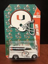 Hot Wheels Custom Dairy Delivery Miami Hurricanes College Football EM2496