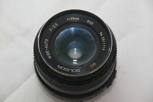 Soligor Mc Wide-Auto 28mm 1: 2,5 Wide Angle Lens for Minolta