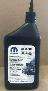 80W - 90 (Gear And Axle Lubricant), 68218041GA