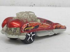 Cadillac Coupé in rot mit Dekorstreifen, ohne OVP, Hot Wheels, 1:64