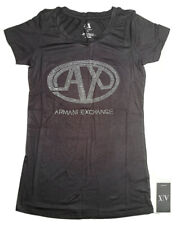 Ladies Armani Exchange AX Logo T-Shirt
