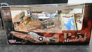 Motor Max BOXED UNUSED 1:48 P-51 Mustang USAAF US Air Corps