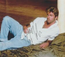 George Michael (Deceased) Faith Father Figure Last Christmas RARE SIGNED RP 8x10