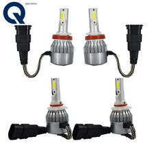 High Low Beam Combo Kit 6000K White H11 9005 Total 2120W 318000LM LED Headlight