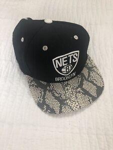 Brooklyn Nets Cap Adidas Basketball Snakeskin Very Rare Durant Irving