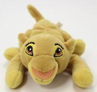 """Disney Store Simba Beanie Plush The Lion King 6"""""""