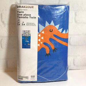 Ikea Drakdjur Twin Duvet Cover Pillowcase Set