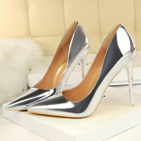 Women Closed Classic Fashion Stiletto Pointed Toe High Heel Dress Pump Shoes